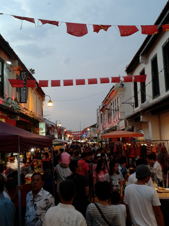 Jonker Street. Wonderful night street market with Chinese delicacies, art, antiques, and lots more.