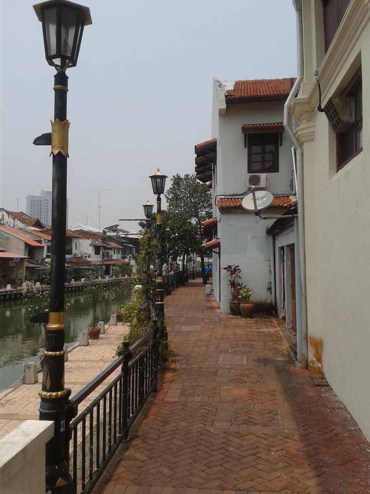 Newly developed river walk. Some great little cafes along the river.