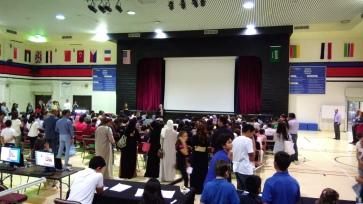 New student orientation.