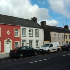 Typical Killeagh houses.