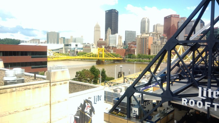 PNC Park, Pittsburgh, PA – From the top of the Rotunda