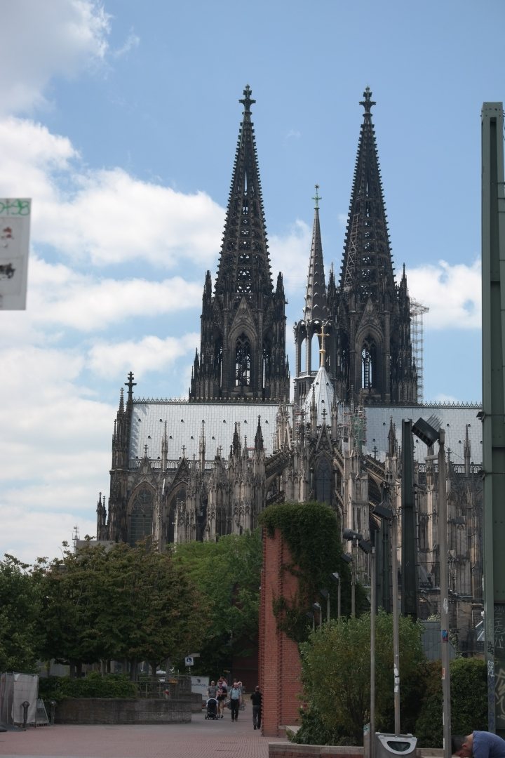 The Cologne Cathedral & My Latest Novel: An Excerpt