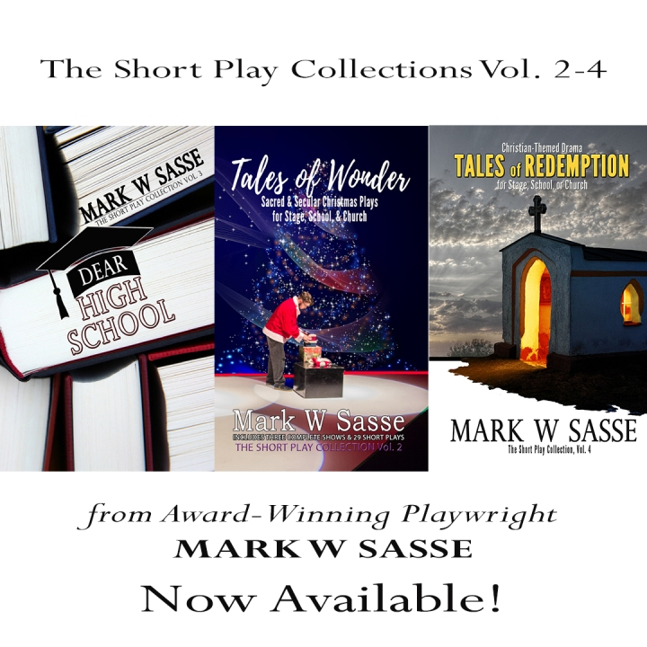 Three New Play Volumes: Now Available!